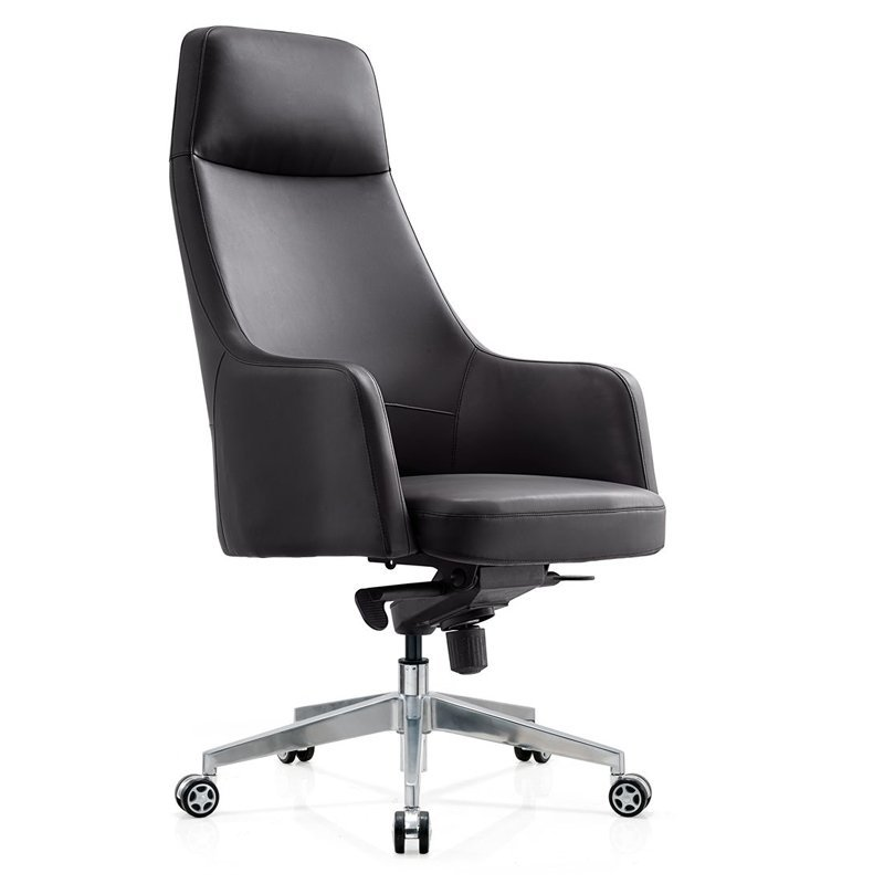 Professional Unique White High Back Leather Office Chair